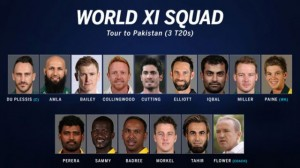 World XI Squad